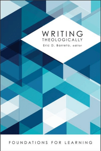 Writing Theologically: Writing Digitally