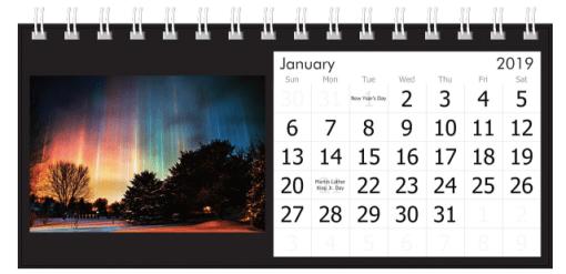 January 2019 Light Pillars