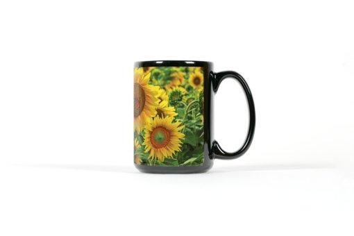 Sunflower mug right view