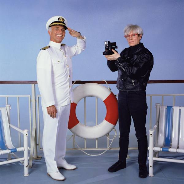 andy warhol on the love boat