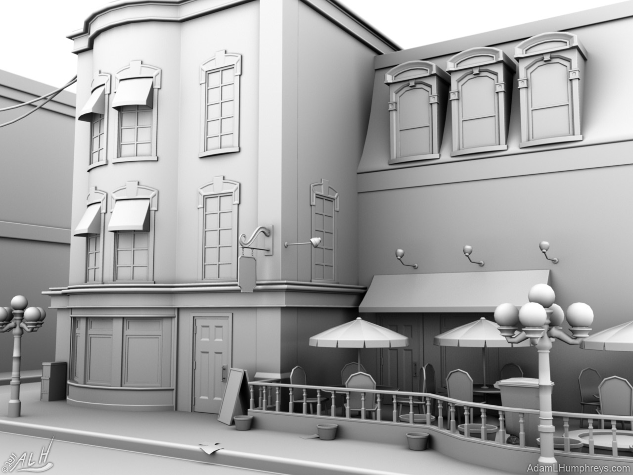 Adam L Humphreys Fiinal Project Ambient Occlusion