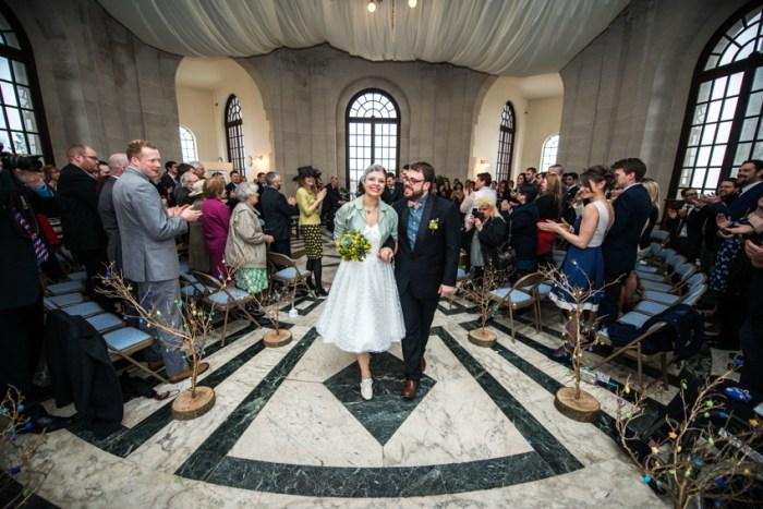 Wedding Service End Shot