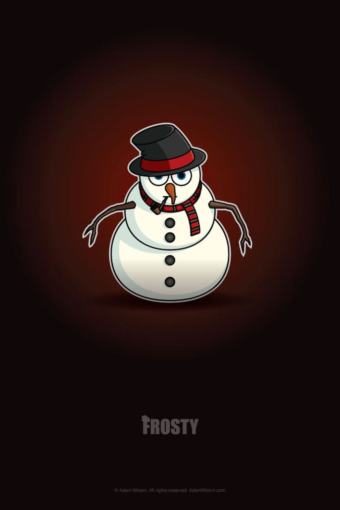 Frosty The Snowman Chibi by Adam Miconi