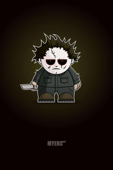 Mike Myers Chibi by Adam Miconi