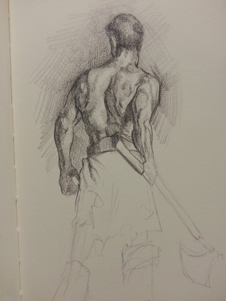 Back Anatomy Study