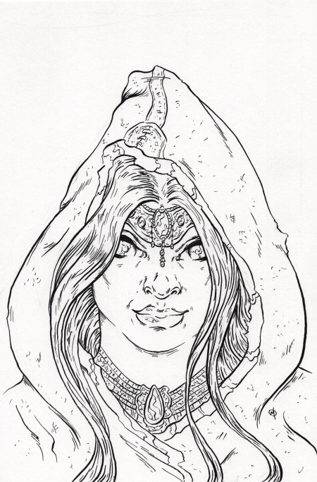 Princess With Hood by Adam Miconi