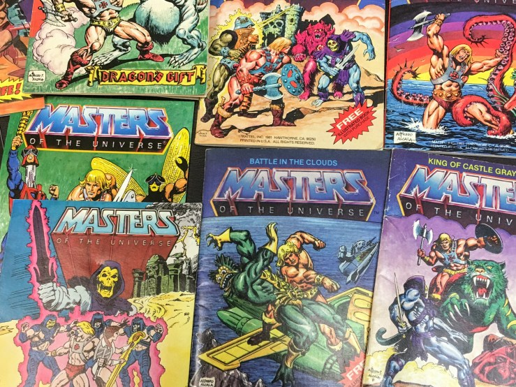 Assortment of Covers from Masters of the Universe Comics