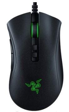 v2 Gaming Mouse 20K DPI Optical Sensor, Chroma RGB Lighting, 8 Programmable Buttons, Rubberized Side Grips