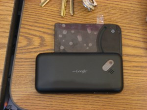 back of g1 phone