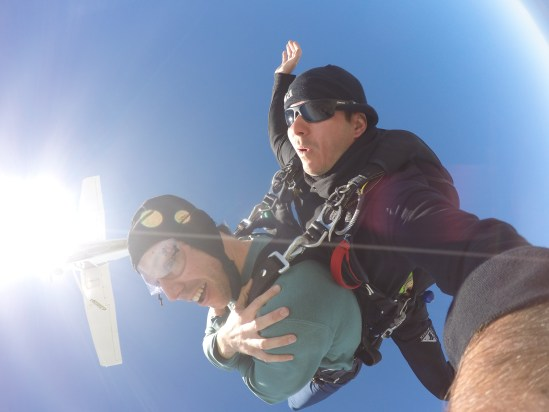 NZ skydive