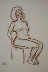 sepia life drawing 04