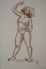 sepia life drawing 02