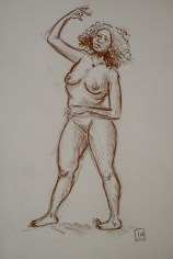 sepia life drawing 02