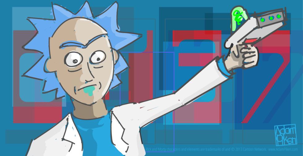 Rick Sanchez C137 by Adam Piken v.2