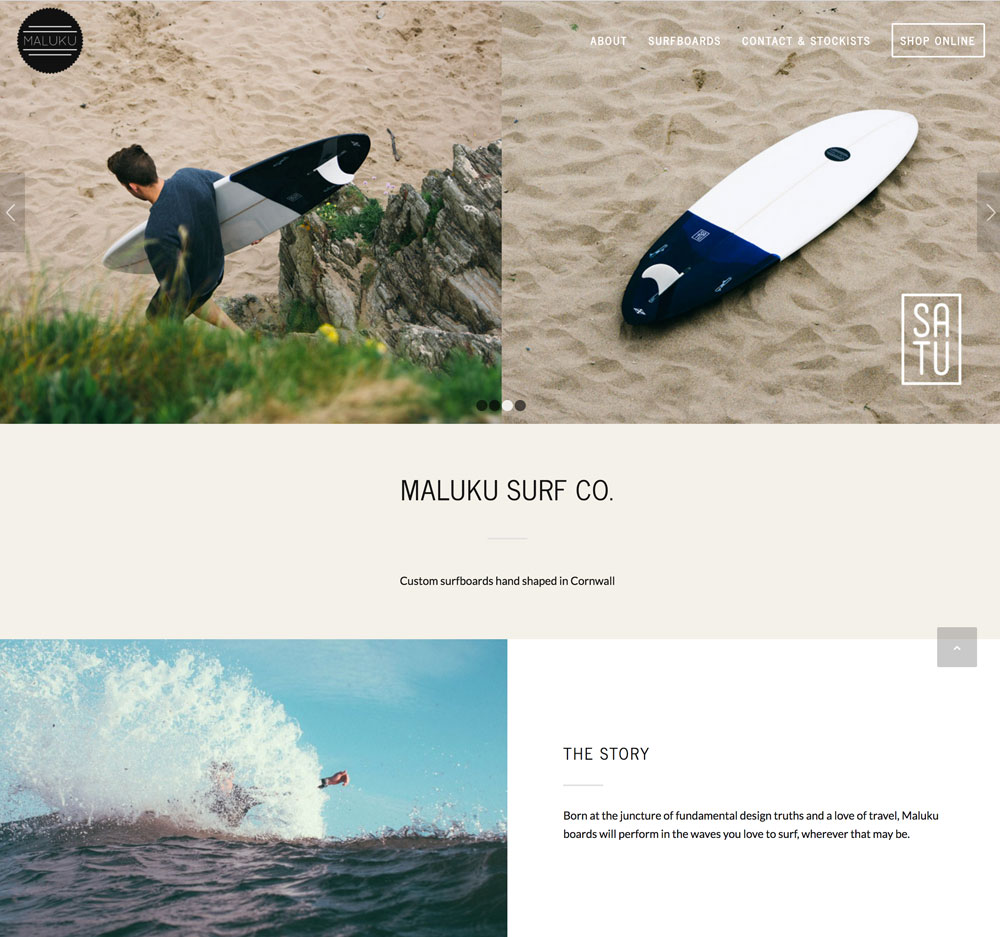 Maluku Website