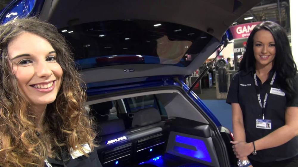 medium resolution of new alpine r32 golf demo install by oxford car audio adam rayner talks audio