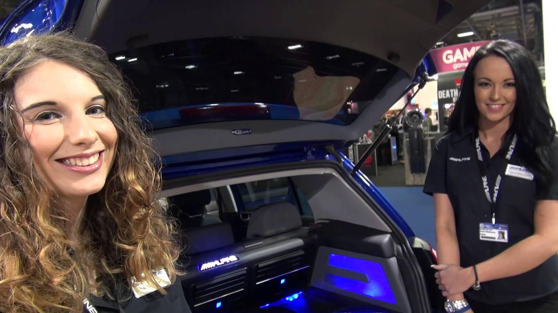 hight resolution of new alpine r32 golf demo install by oxford car audio adam rayner talks audio
