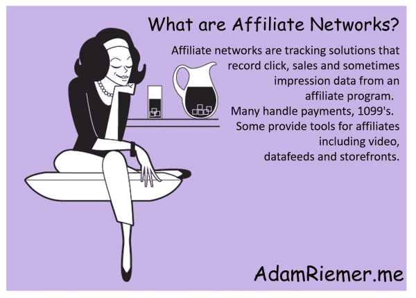 what are affiliate networks