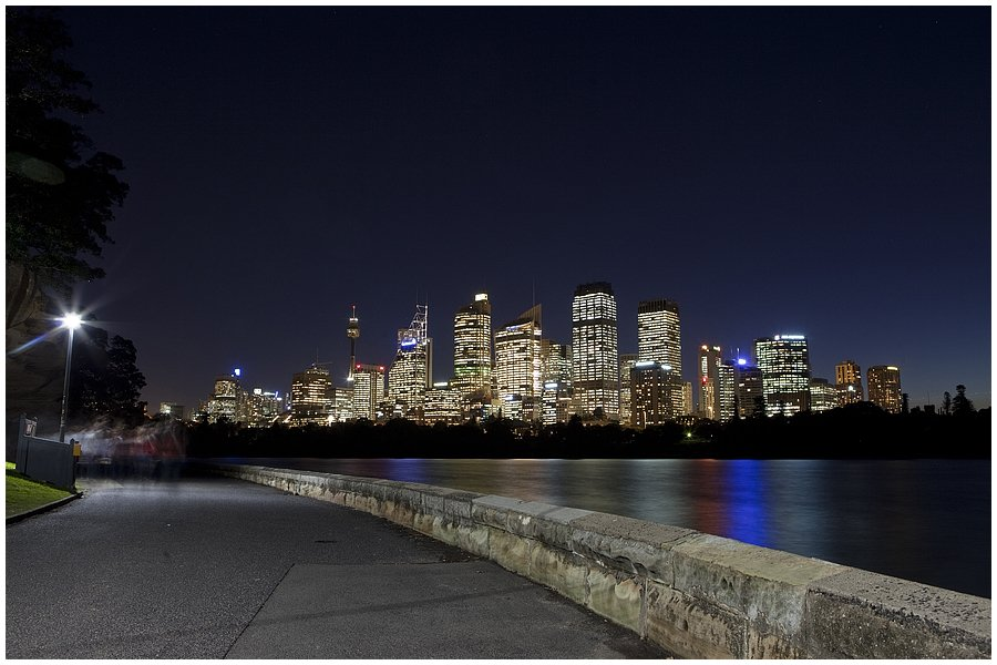 sydney night skyline
