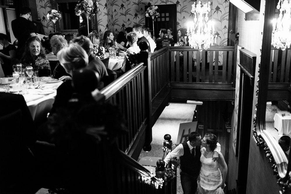belle epoque wedding stairs