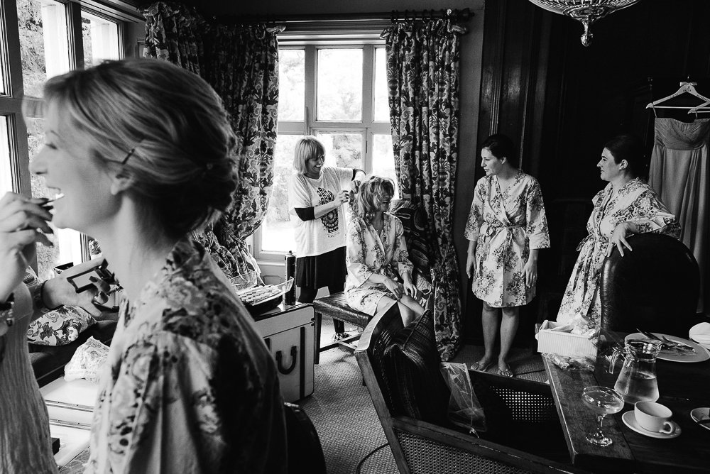 Mitton hall bridal prep