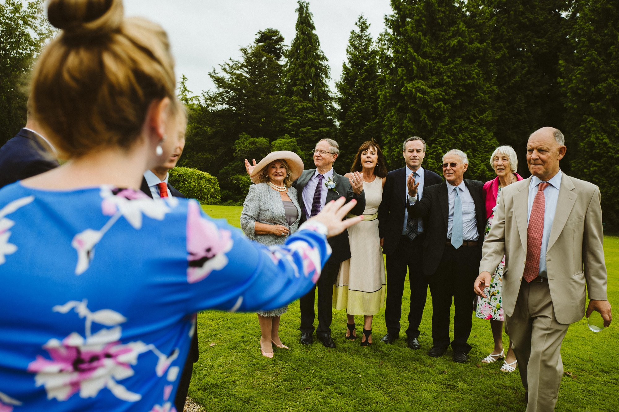 Documentary wedding photography somerset