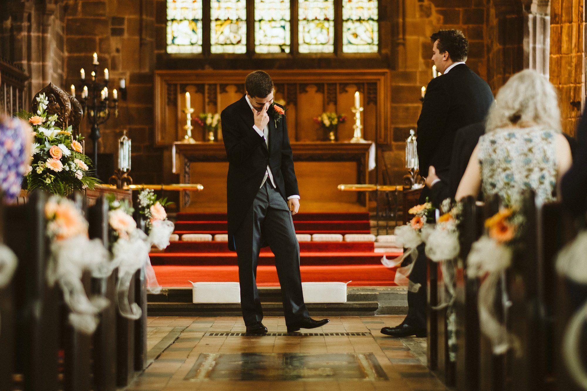 great budworth church wedding