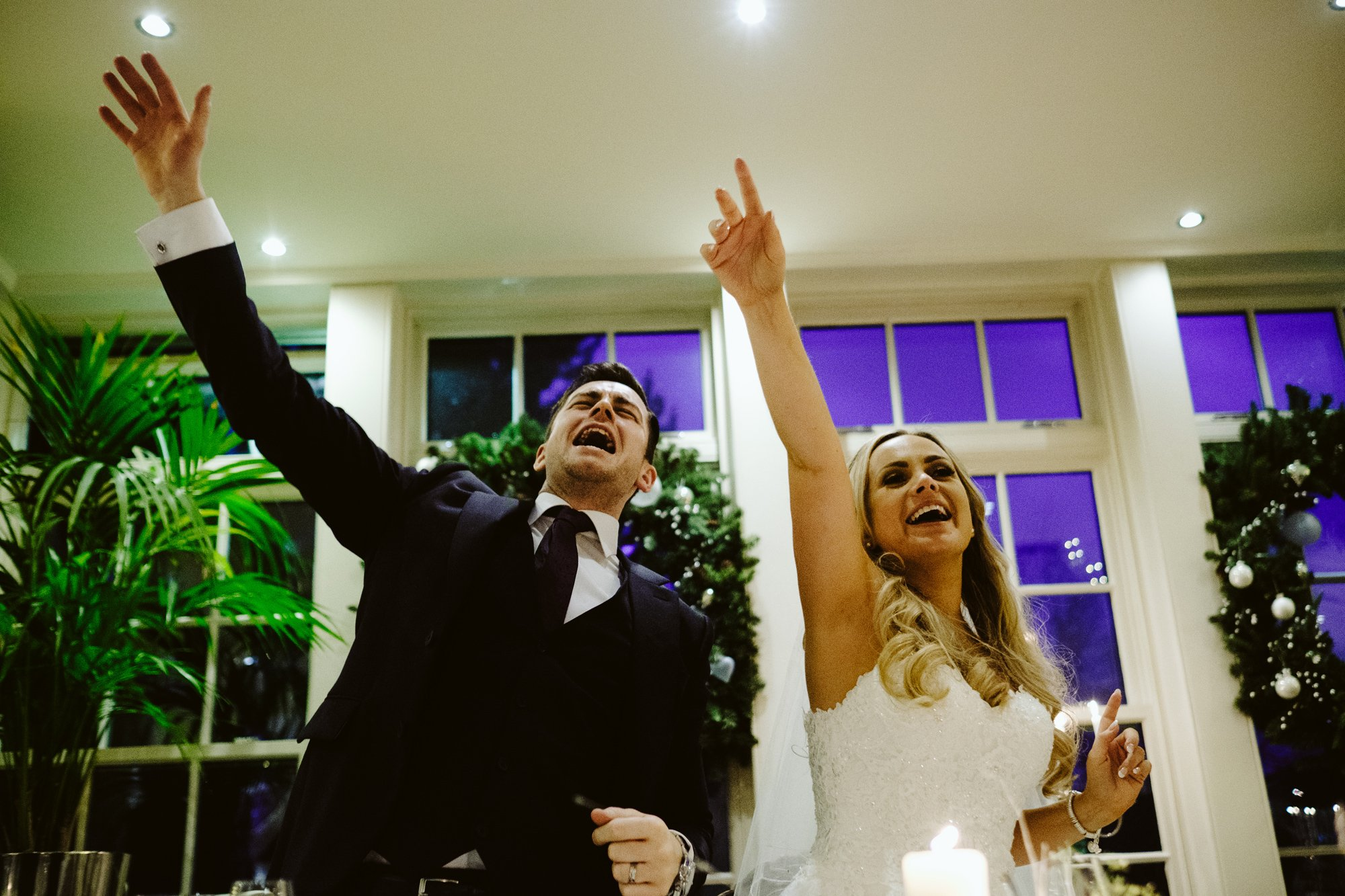 winter wedding mitton hall