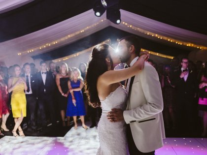 Home Marquee Wedding: Rebecca + Arjang