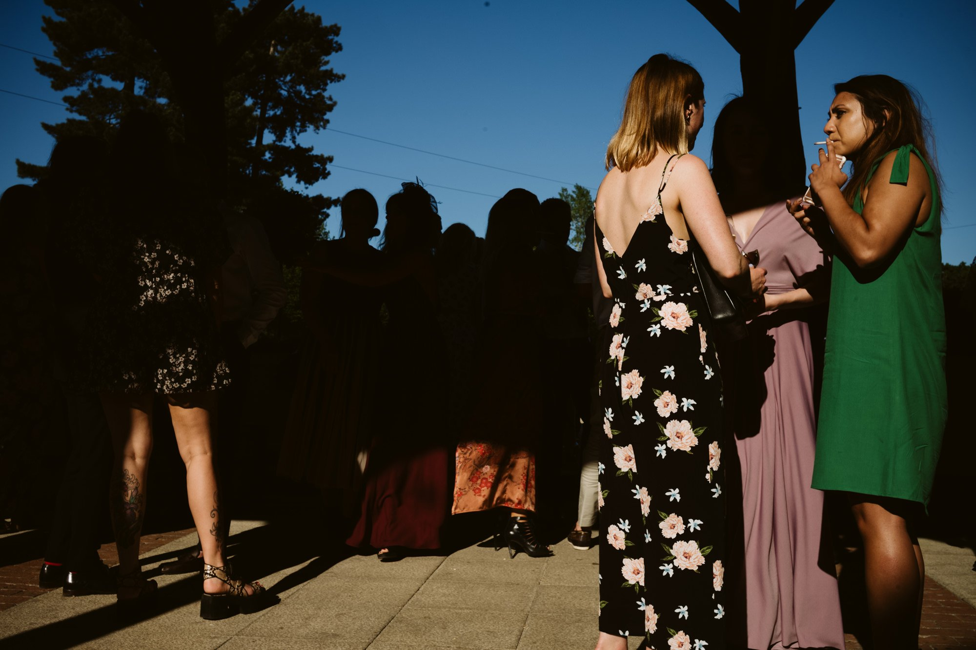 wedding reception gaynes park