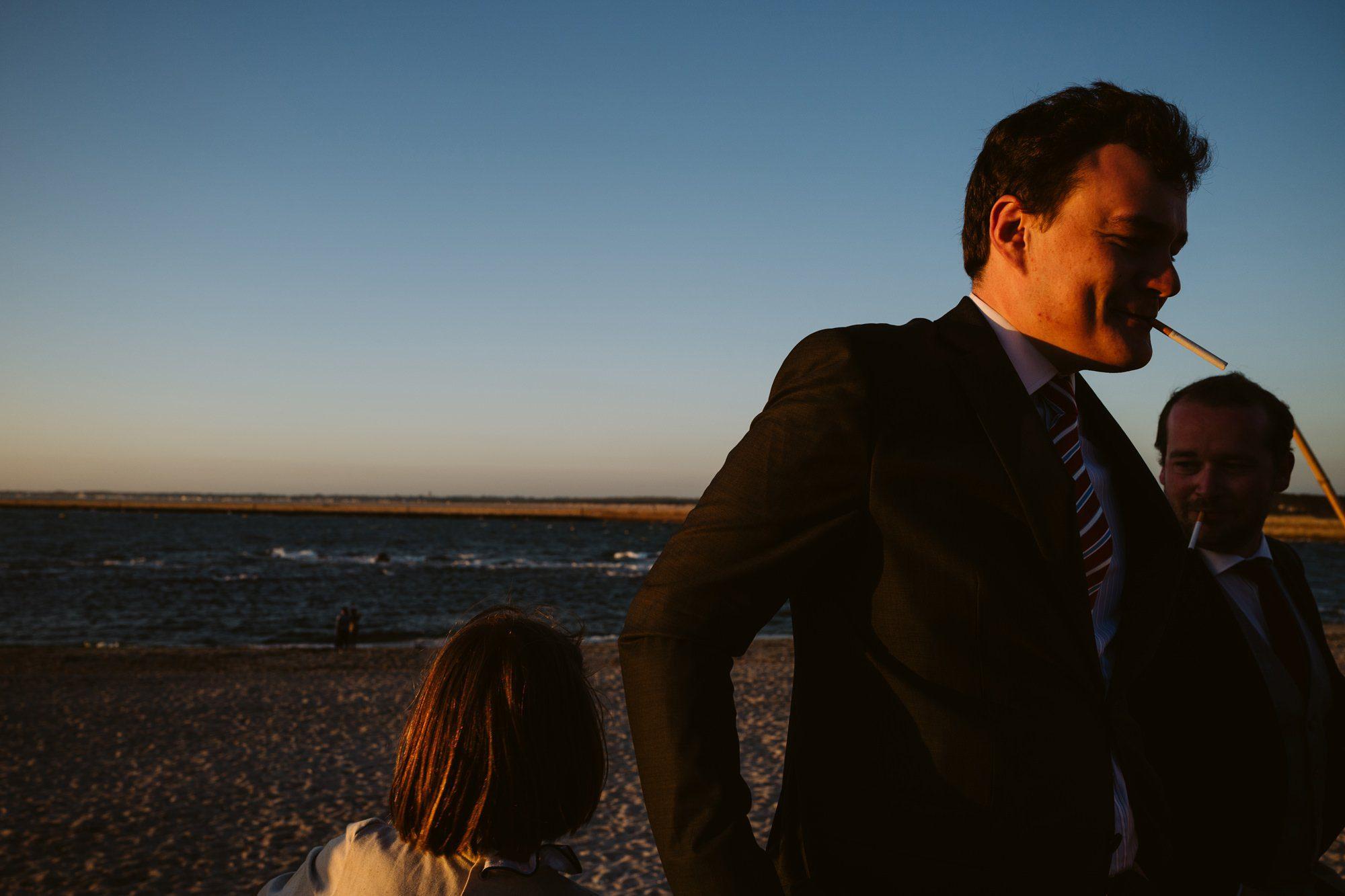 beach wedding le crosic