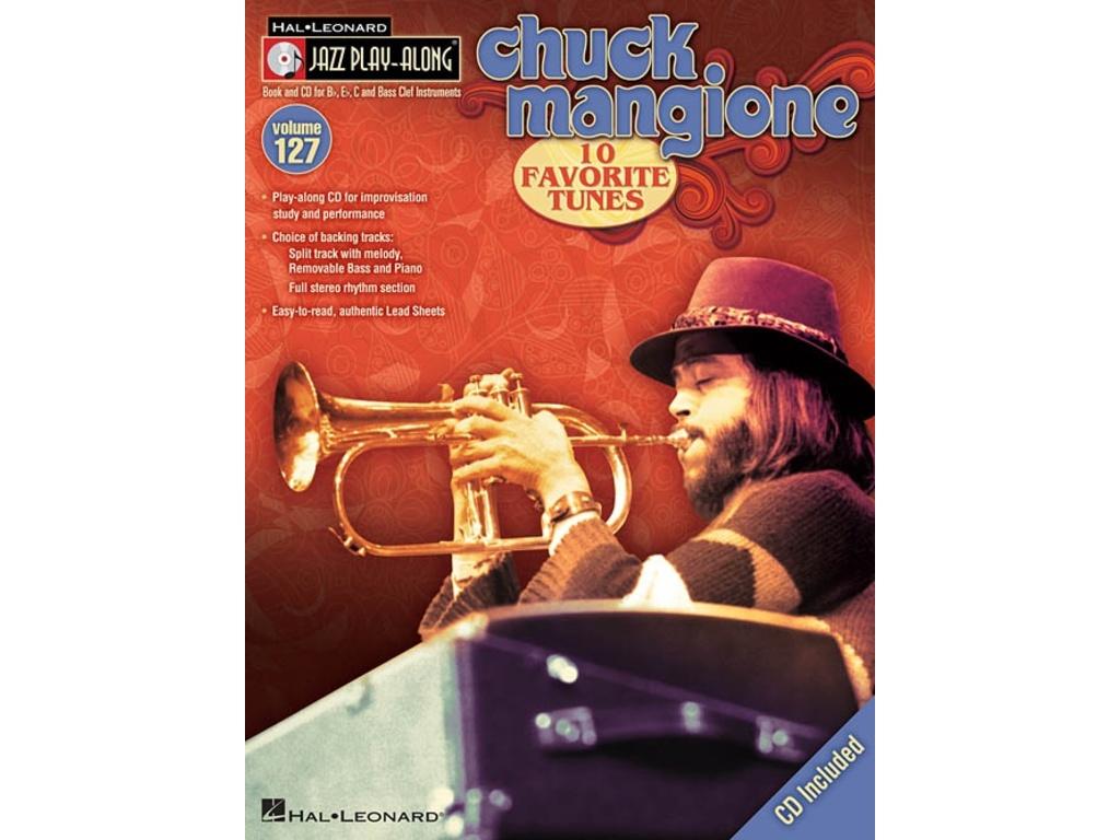 noten jazz play along volume 127 mangione chuck für bb, eb oder c