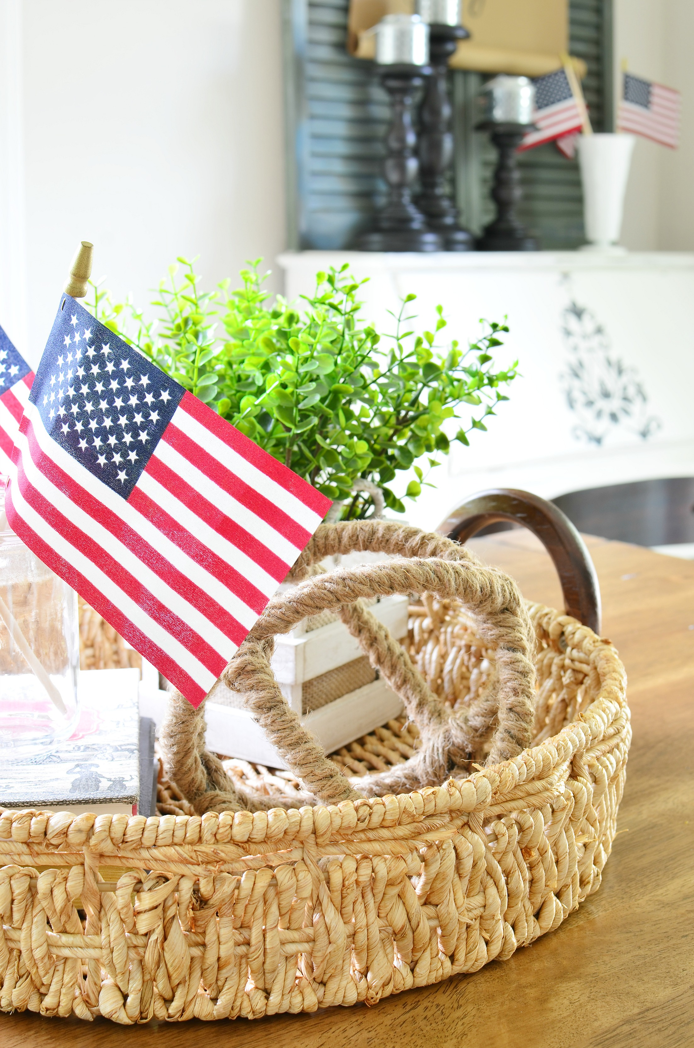Five Simple Ways To Add Patriotic Decor To Your Home | Adams and Elm