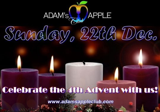 4th Advent 2019 Adams Apple Club