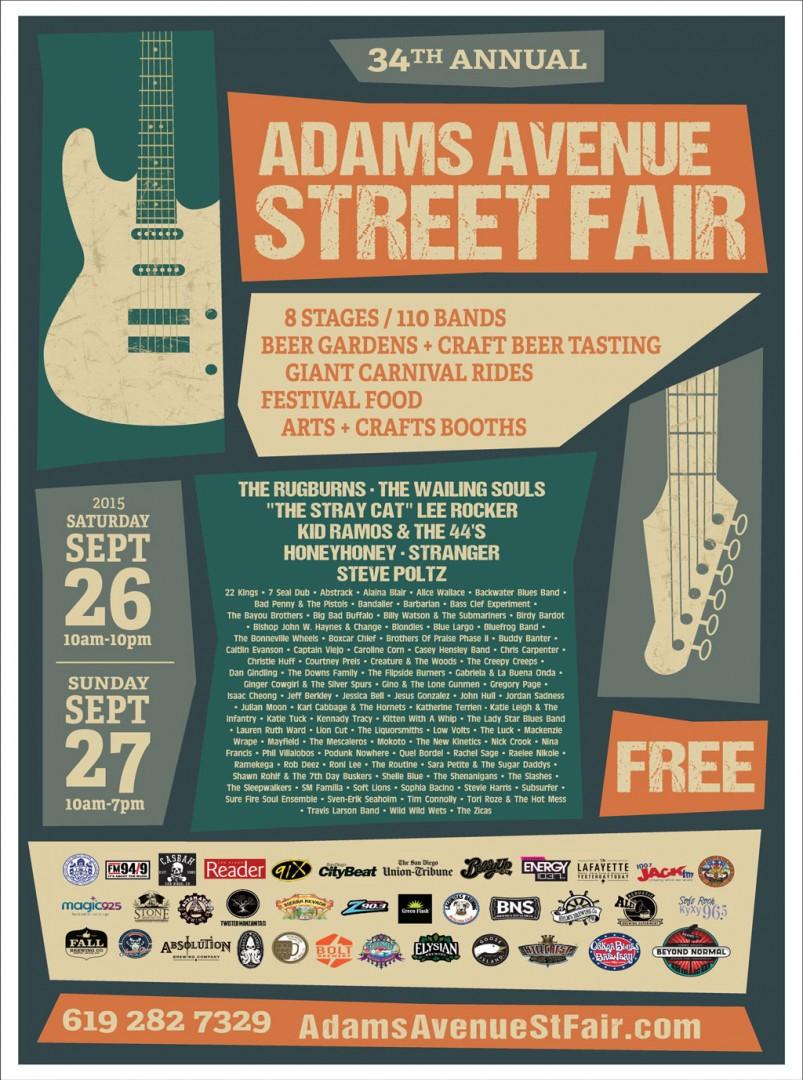 2015 Adams Avenue Street Fair