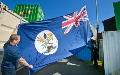 Brothers' Island flag flies anew, with roots in Victorian age