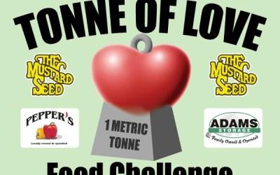 Adams Storage Helps Odd Fellows with Mustard Seed Food Bank Drive