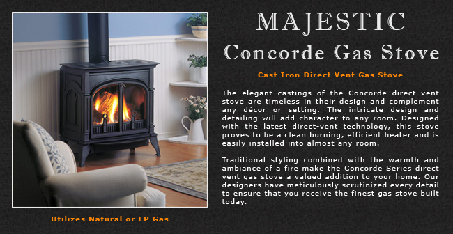 wiring diagram for gas furnace ford f100 wiper motor majestic concorde direct vent stove adams company, wood stoves in western mass, pellet ...