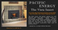 Pacific Energy Vista Wood Fireplace Insert Adams Stove ...