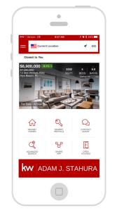 30A Real Estate App Screenshot