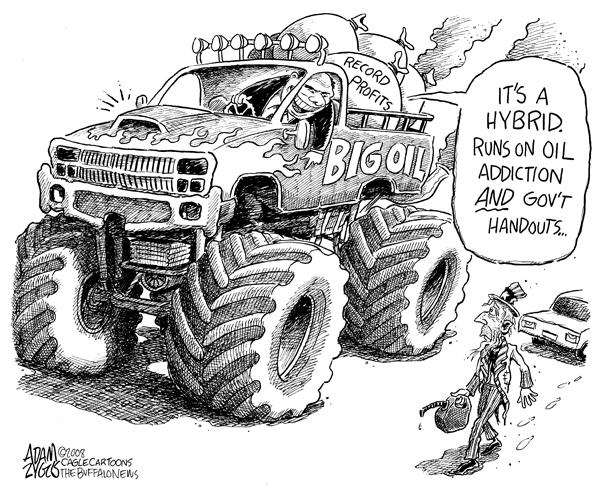 Big Government ... Big oil ...