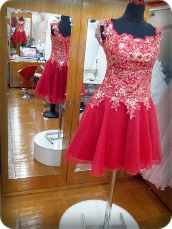 38 beden Kırmızı kına kıyafeti