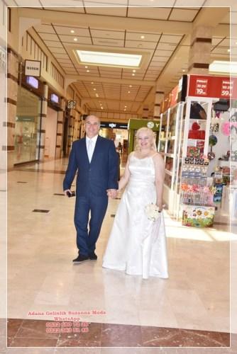 Beyaz nikah gelinlik