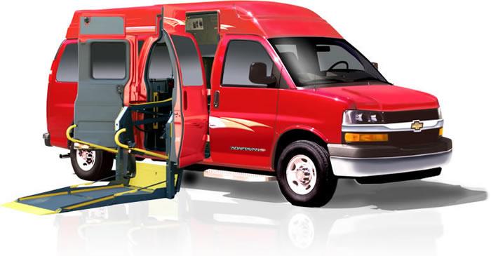 Adaptavan Wheelchair Accessible Commercial Van ADA