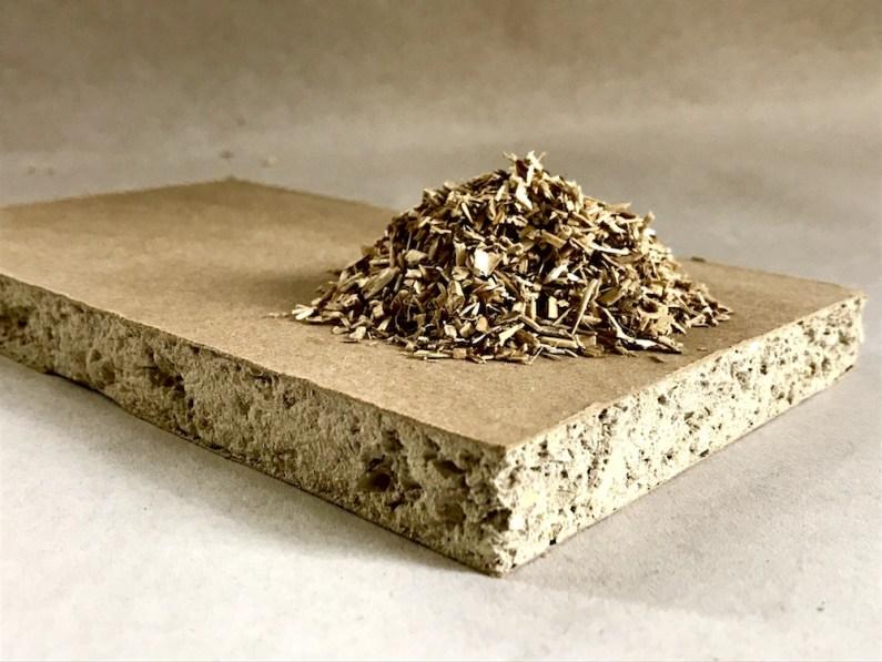 Breathaboard. High performance biocomposite board.