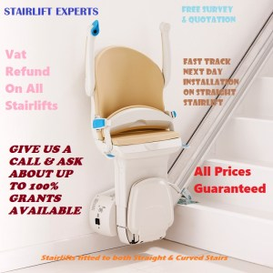 Straight stairlift display