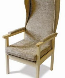 High Back Chairs and Accessories