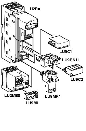 dual motor starter wiring diagram bobcat s250 schneider / square d parts commonly used in designs and products for adapticom customers - zelio ...