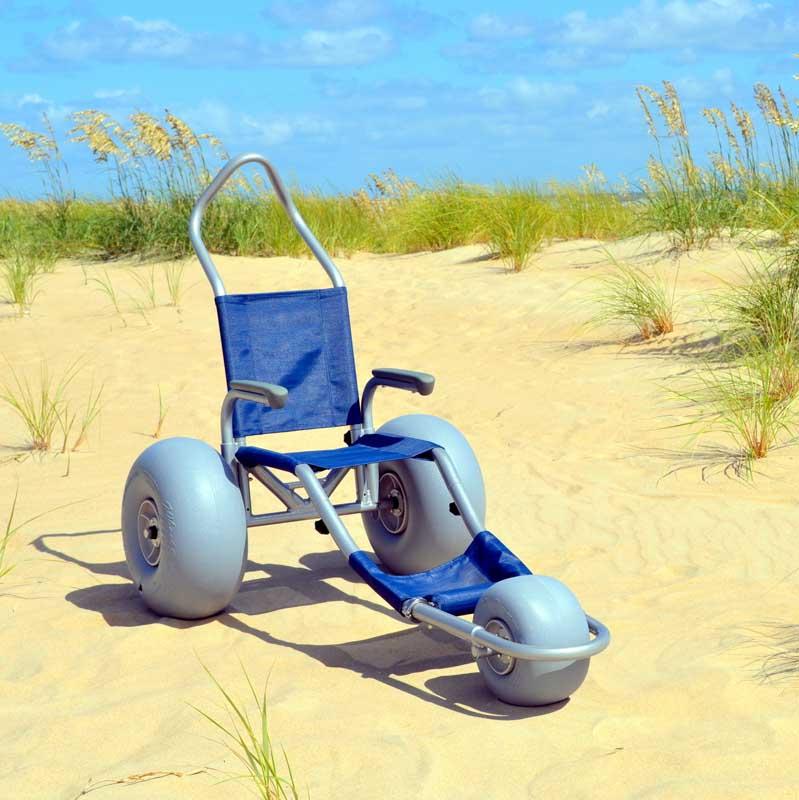 Sand Rider Custom Beach Wheelchair