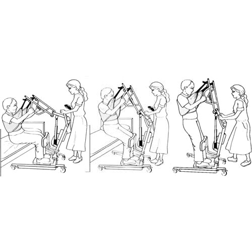 Lumex® Bariatric Easy Lift Sit to Stand